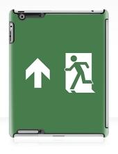 Lee Wilson Running Man Exit Sign Apple iPad Tablet Case 14