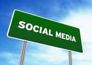 Social Media Road Sign
