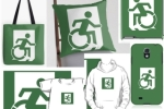 Exit Incorporated Accessible Means of Egress Fire Exit Sign Merchandise