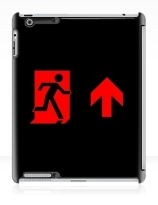 Running Man Exit Sign Apple iPad Tablet Case 100