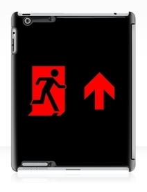 Running Man Exit Sign Apple iPad Tablet Case 100