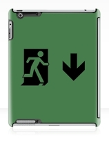 Running Man Exit Sign Apple iPad Tablet Case 111Running Man Exit Sign Apple iPad Tablet Case 111
