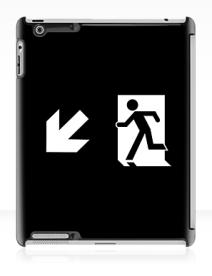 Running Man Exit Sign Apple iPad Tablet Case 120