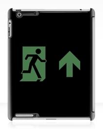Running Man Exit Sign Apple iPad Tablet Case 13