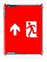 Running Man Exit Sign Apple iPad Tablet Case 139