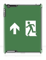 Running Man Exit Sign Apple iPad Tablet Case 14