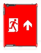Running Man Exit Sign Apple iPad Tablet Case 144