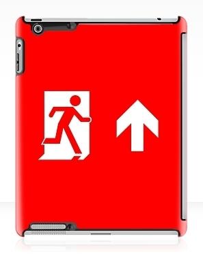 Running Man Exit Sign Apple iPad Tablet Case 144
