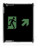 Running Man Exit Sign Apple iPad Tablet Case 154