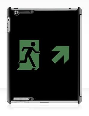 Running Man Exit Sign Apple iPad Tablet Case 154