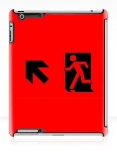 Running Man Exit Sign Apple iPad Tablet Case 36