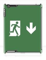 Running Man Exit Sign Apple iPad Tablet Case 38