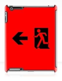 Running Man Exit Sign Apple iPad Tablet Case 43
