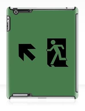 Running Man Exit Sign Apple iPad Tablet Case 46