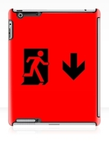 Running Man Exit Sign Apple iPad Tablet Case 48