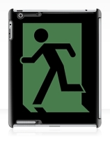 Running Man Exit Sign Apple iPad Tablet Case 70