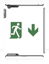 Running Man Exit Sign Apple iPad Tablet Case 79