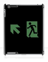 Running Man Exit Sign Apple iPad Tablet Case 88