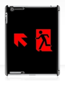 Running Man Exit Sign Apple iPad Tablet Case 90