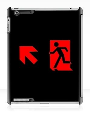 Running Man Exit Sign Apple iPad Tablet Case 90