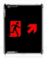 Running Man Exit Sign Apple iPad Tablet Case 96