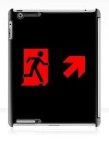 Running Man Exit Sign Apple iPad Tablet Case 96