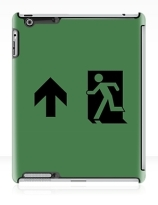 Running Man Exit Sign Apple iPad Tablet Case 97