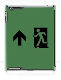 Running Man Exit Sign Apple iPad Tablet Case 97