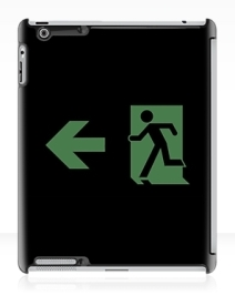Running Man Exit Sign Apple iPad Tablet Case 99
