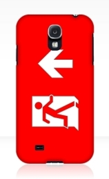 Running Man Exit Sign Samsung Galaxy Mobile Phone Case 107
