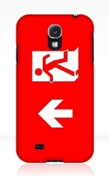 Running Man Exit Sign Samsung Galaxy Mobile Phone Case 111
