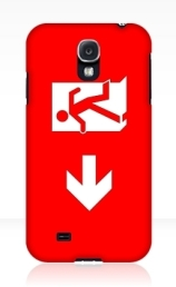 Running Man Exit Sign Samsung Galaxy Mobile Phone Case 112