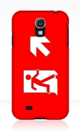 Running Man Exit Sign Samsung Galaxy Mobile Phone Case 117