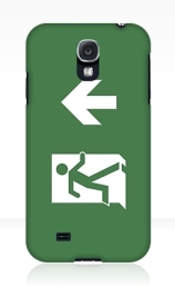 Running Man Exit Sign Samsung Galaxy Mobile Phone Case 118