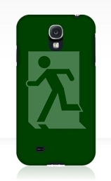 Running Man Exit Sign Samsung Galaxy Mobile Phone Case 121