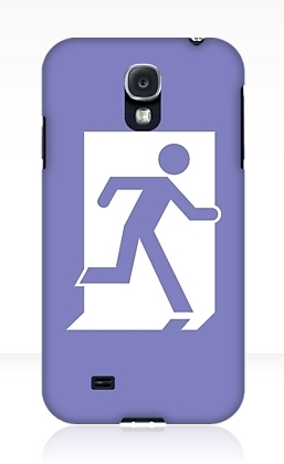Running Man Exit Sign Samsung Galaxy Mobile Phone Case 13