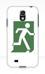 Running Man Exit Sign Samsung Galaxy Mobile Phone Case 14