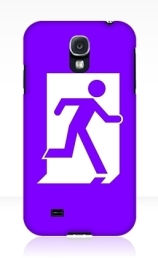 Running Man Exit Sign Samsung Galaxy Mobile Phone Case 143