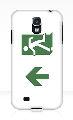 Running Man Exit Sign Samsung Galaxy Mobile Phone Case 15