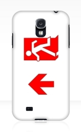 Running Man Exit Sign Samsung Galaxy Mobile Phone Case 151