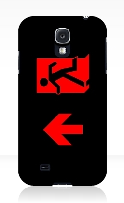 Running Man Exit Sign Samsung Galaxy Mobile Phone Case 164