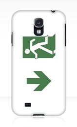 Running Man Exit Sign Samsung Galaxy Mobile Phone Case 19