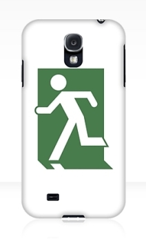 Running Man Exit Sign Samsung Galaxy Mobile Phone Case 20