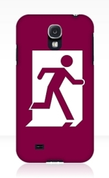 Running Man Exit Sign Samsung Galaxy Mobile Phone Case 24
