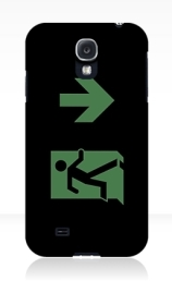 Running Man Exit Sign Samsung Galaxy Mobile Phone Case 26