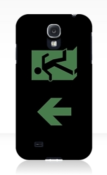 Running Man Exit Sign Samsung Galaxy Mobile Phone Case 28