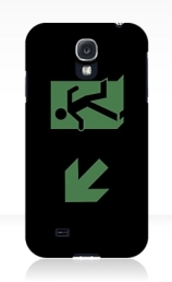 Running Man Exit Sign Samsung Galaxy Mobile Phone Case 30