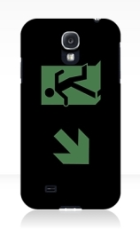 Running Man Exit Sign Samsung Galaxy Mobile Phone Case 31