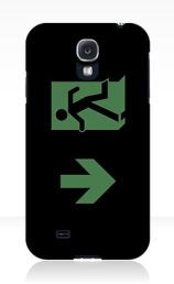Running Man Exit Sign Samsung Galaxy Mobile Phone Case 32