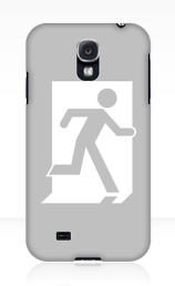 Running Man Exit Sign Samsung Galaxy Mobile Phone Case 35